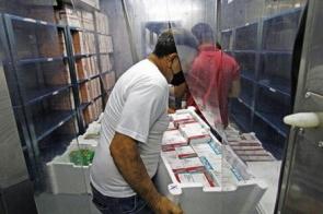 Mato Grosso do Sul recebe mais 56.460 doses da vacina contra Covid-19 nesta quinta-feira