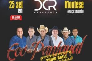 DCR Produções realiza show baile em Montese dia 25 de setembro