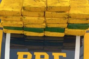 Polícia apreende mais de R$ 4 milhões em cocaína pura durante abordagem