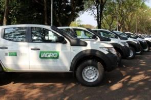 Na busca pelo status de Estado livre da febre aftosa sem vacinação, Governo entrega 40 caminhonetes à Iagro