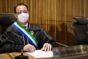 Tomás Bawden de Castro Silva toma posse como desembargador do TRT/MS