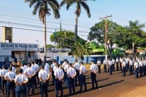 Semana de provas movimenta Curso de Formação de Soldados em Dourados