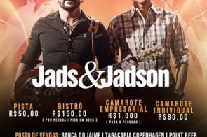 Show de Jads e Jadson é transferido para segunda-feira dia 11 em Itaporã