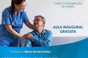 Oportunidade: Aula Inaugural GRATUITA Curso de cuidador de idosos neste sábado (16) na Click Cursos