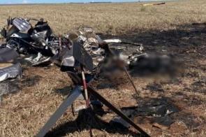 Apreendidos 226 quilos de cocaína nos destroços do helicóptero que caiu