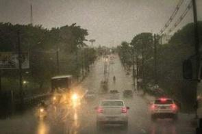 Meteorologia prevê chuvas mais fortes em MS somente a partir de 4ª