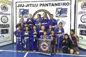 Equipe de Itaporã-MS Aguiar Brasil Jiu-Jitsu/MMA conquista medalhas no Campeonato GP MS Brasil