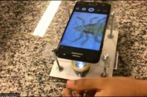 Estudantes brasileiros desenvolvem microscópio com R$ 25