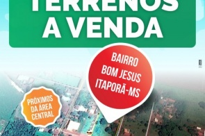 Terrenos a venda nas proximidades da área central em Itaporã