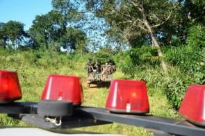 Quatro são presos por caça predatória de jacaré