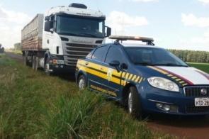 PRF interrompe crime de golpe do seguro que seria dado utilizando caminhão