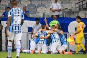André marca e Grêmio bate o Cruzeiro em Minas na estreia no Brasileirão
