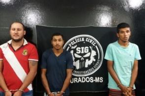 SIG desmonta quadrilha especializada em furtos