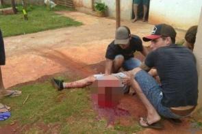 Rapaz de 27 anos tem a perna arrancada em acidente de moto