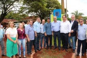 Confira as fotos da visita do governador Reinaldo Azambuja em Itaporã