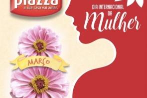 Com Café-da-manhã e ofertas especiais Móveis Plazza celebra Dia Internacional da Mulher.