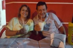 Bodas de Azeviche: Casal Rubens e Elenice Santana celebra 43 anos de matrimônio nesta quinta-feira (11).