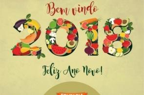 Frutaria Pague Pouco deseja um próspero Ano Novo a todos amigos e clientes