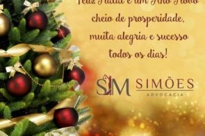 Simões advocacia deseja a todos amigos e clientes um Próspero Ano Novo