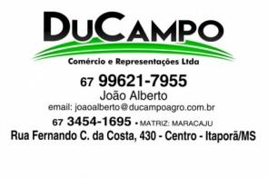 DuCampo comércio e representações Ltda deseja a todos clientes um Feliz Natal