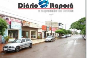 Comércio de Itaporã ignora feriado municipal e lojas abrem as portas normalmente