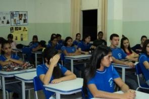 Aula inaugural do Curso Técnico em Agronegócio na Escola Rodrigues Alves