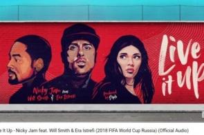 Fifa divulga música oficial da Copa do Mundo Rússia 2018; ouça