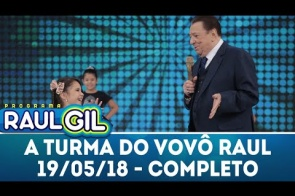 Sul-nova-alvoradense de 6 anos é atração do programa Raul Gil do SBT