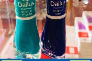 Na Farmácia Pioneira você encontra a qualidade e beleza dos esmaltes Dailus