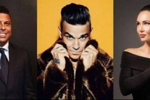 Cerimônia de abertura da Copa da Rússia terá Robbie Williams e Ronaldo