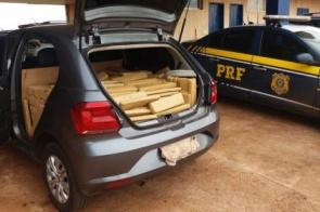 Homem pega droga no Paraguai e acaba preso na BR-463