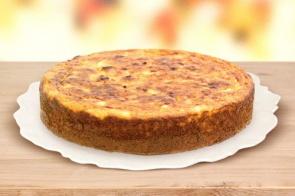 Bolo de batata doce leva leite condensado e coco ralado na receita