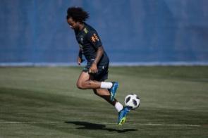 Lateral Marcelo será o capitão da seleção na estreia da Copa do Mundo