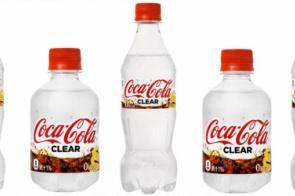 Coca-cola vai ter versão transparente – mas só no Japão
