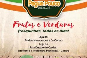 Frutaria Pague Pouco está com um show de ofertas nesta terça-feira confira