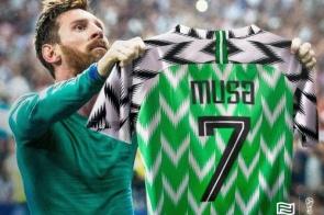 Ahmed Musa ou Lionel Messi? O tempo dirá!