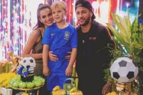 Ex de Neymar agradece presença de Bruna Marquezine em festa de filho