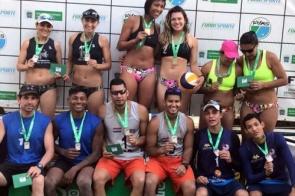 Dupla de MS conquista 6ª etapa do XXVIII Circuito Estadual de Vôlei de Praia