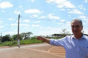Com Reinaldo, Dourados garante asfalto novo do centro ao núcleo industrial