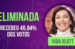 Vida Vlatt é a primeira eliminada de A Fazenda 10 com 46,84% dos votos
