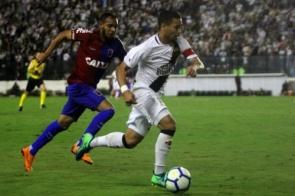 Paraná e Vasco fazem jogo de seis pontos no Durival Britto
