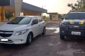 Veículo roubado no interior de São Paulo é recuperado em MS