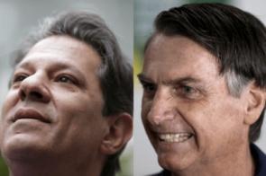 Bolsonaro tem 59% das intenções de voto; Haddad, 41%, diz BTG/FSB