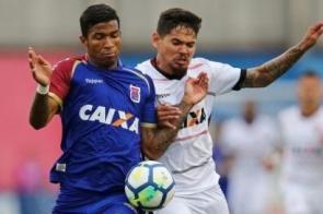Paraná empata com Vitória e pode ser rebaixado ainda nesta rodada
