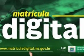 Matrícula Digital nas escolas estaduais será lançada nesta quarta-feira