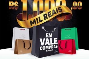 Loja Querina Confecções vai sortear vale compras de mil reais para seus clientes