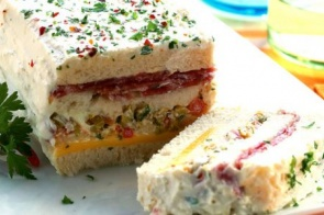 Aprenda a fazer esse rapido sanduíche de salame