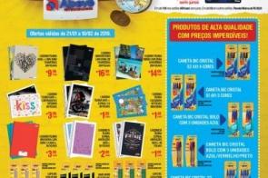 Confira as ofertas de volta às aulas do Abevê Supermercados