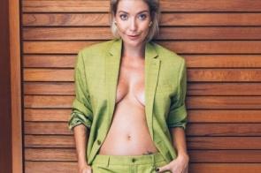 Luiza Possi está grávida de seu primeiro filho com Cris Gomes