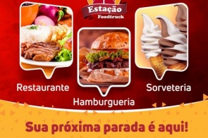 Confira o Cardápio desta sexta-feira (25) da Estação FoodTruck de Itaporã